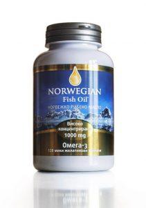 Норвежко рибено масло високо концентрирано
