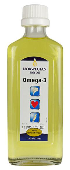 Норвежко рибено масло сироп